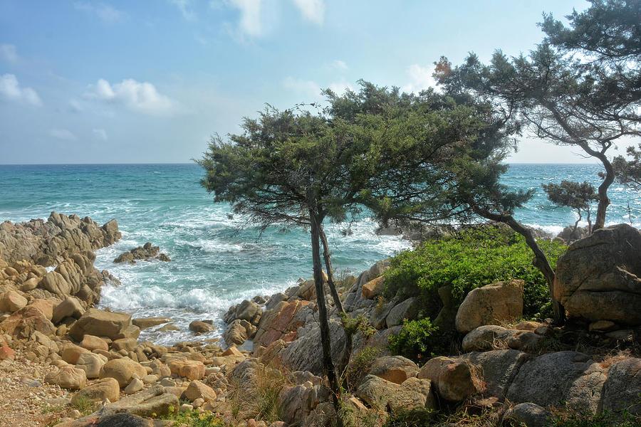 Sardinia Rocky Bay Photograph