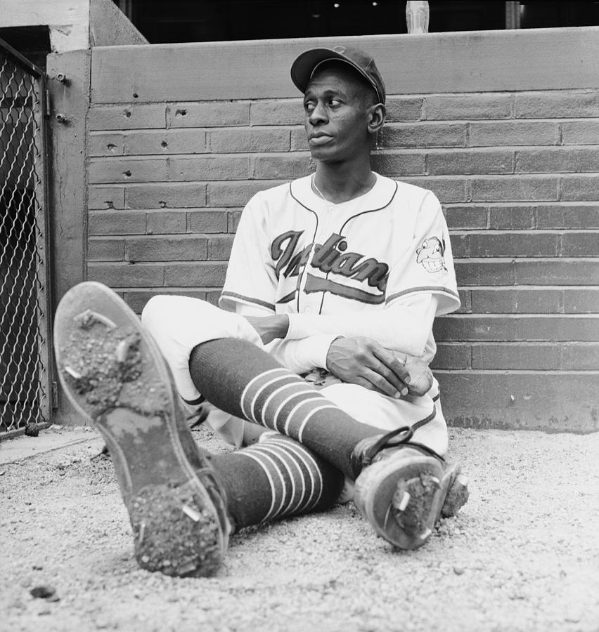 Satchel Paige Photograph by George Silk