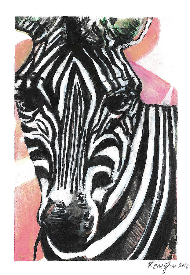 Satisfaction In Stripes by Rene Capone