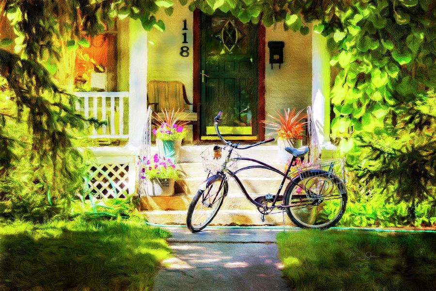 Saturday Morning Bicycle by Craig J Satterlee
