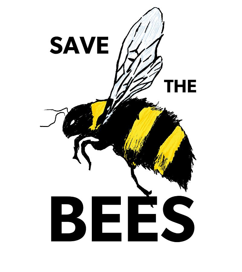 Save the Bees  by Andrea