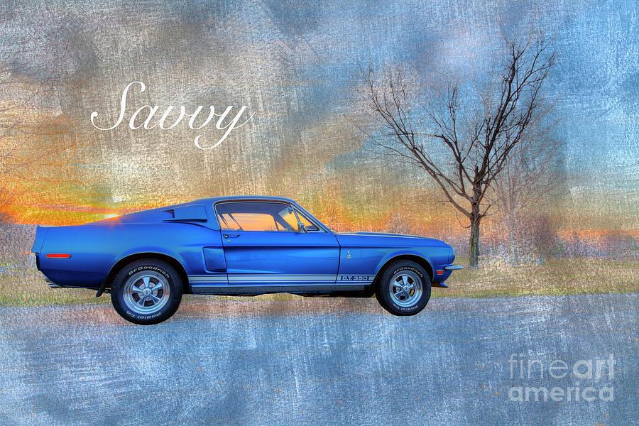 Blue Photograph - Savvy  by Larry Braun