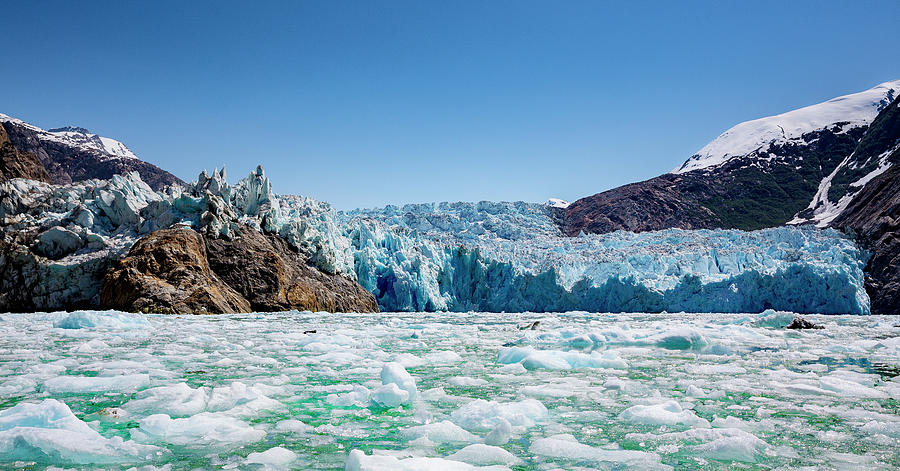 Sawyer Glacier, Alaska Photograph