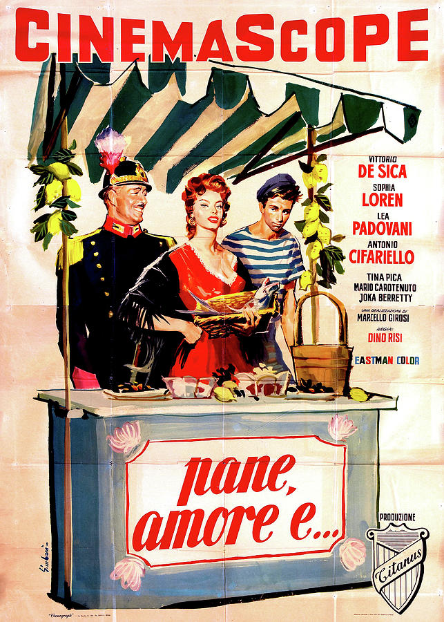 scandal In Sorrento - 1955 Italy Mixed Media