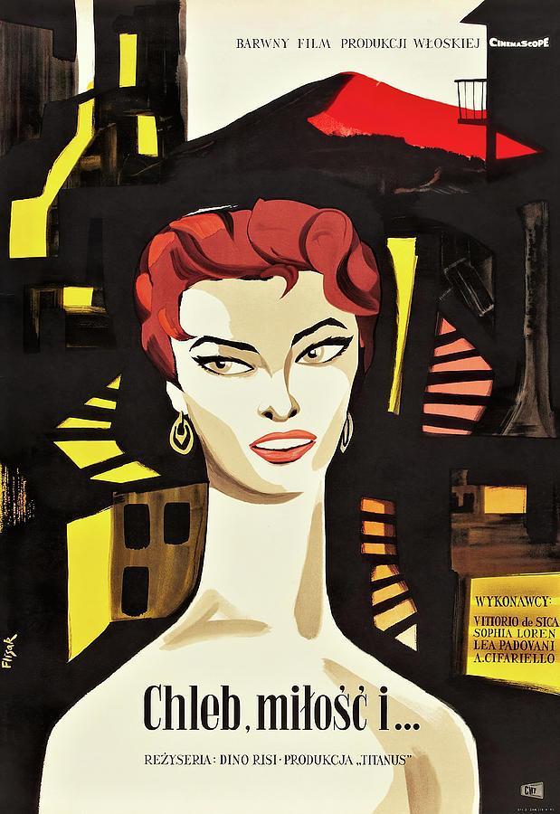 scandal In Sorrento, With Sophia Loren, 1955 Mixed Media