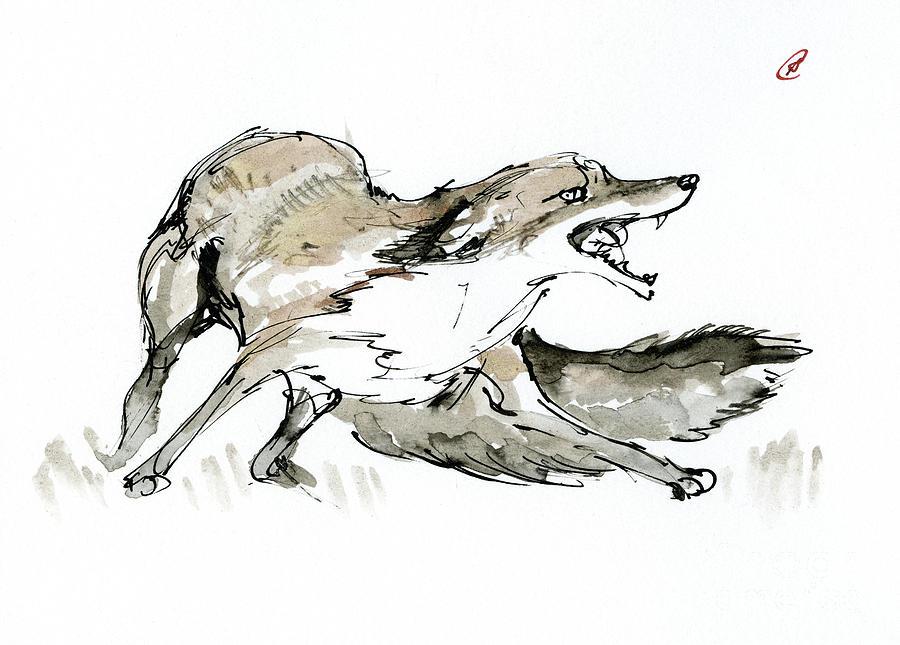 Scared Vixen by Angel Ciesniarska
