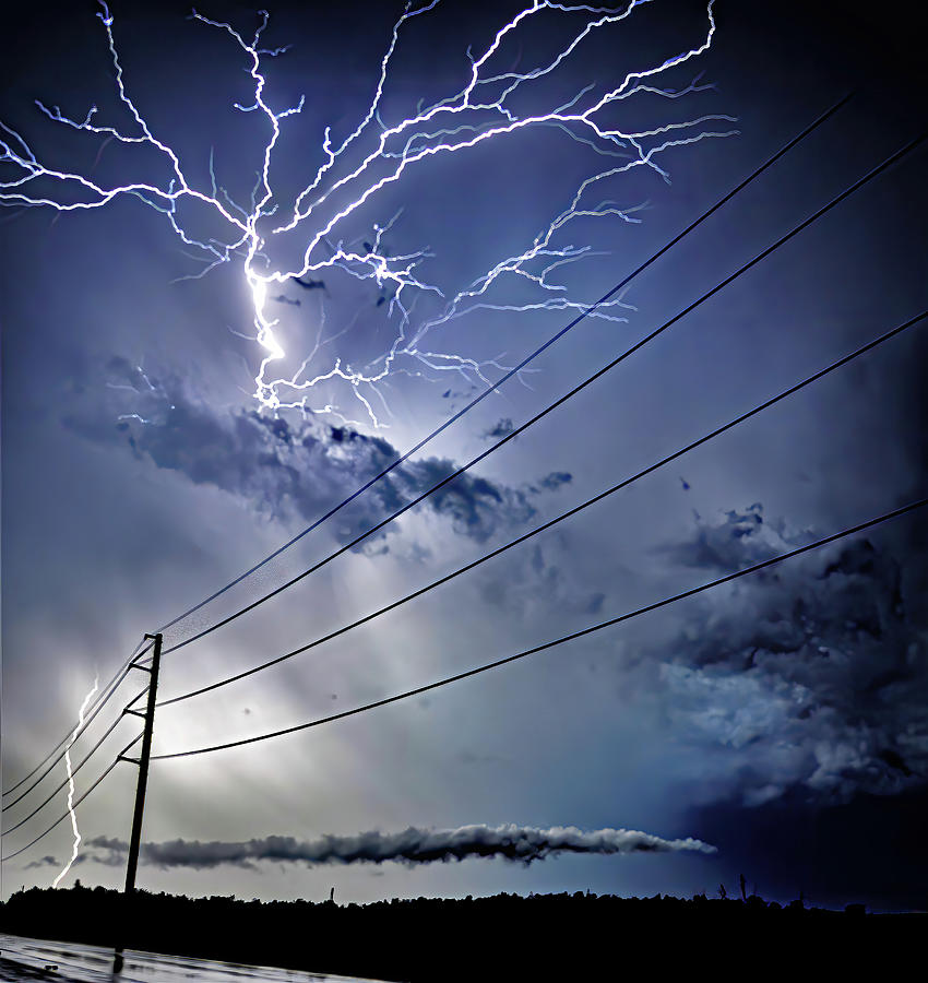 Scary Sky Photograph