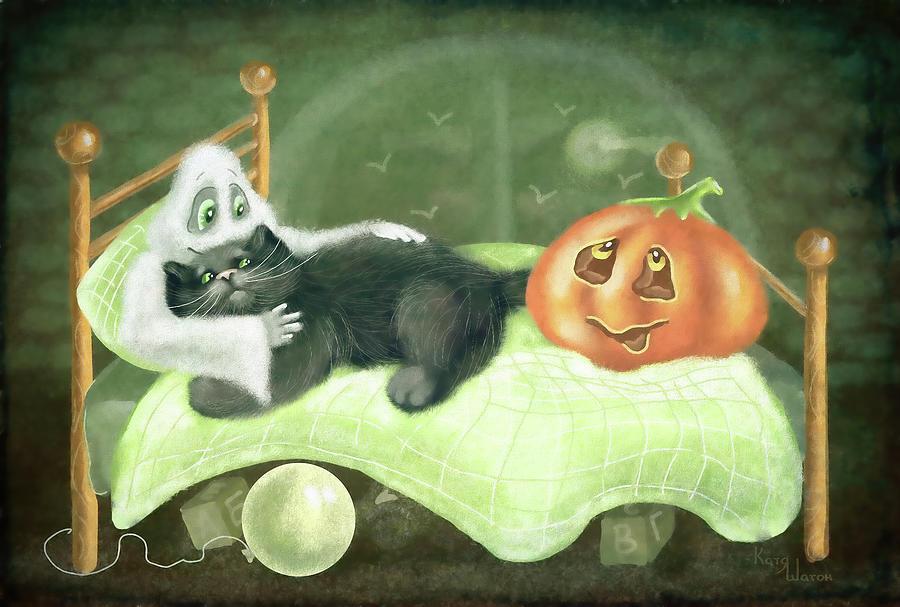 Scary Story Classic Digital Art