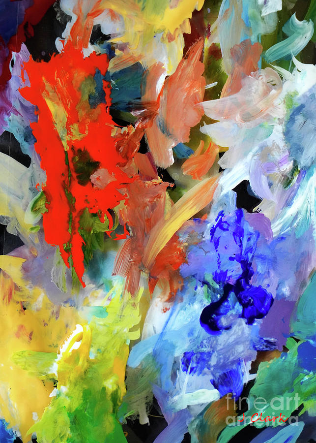 Scattered Thoughts Painting