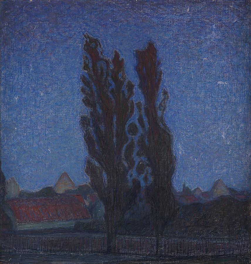 scene from Gotland Painting