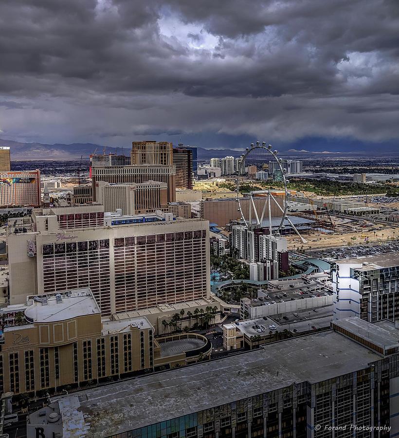 Scenic Las Vegas View Photograph