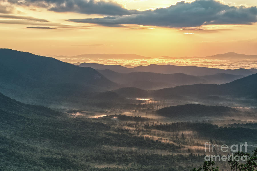 Blue Ridge Parkway Photograph - Scenic Overlook 6 by Phil Perkins