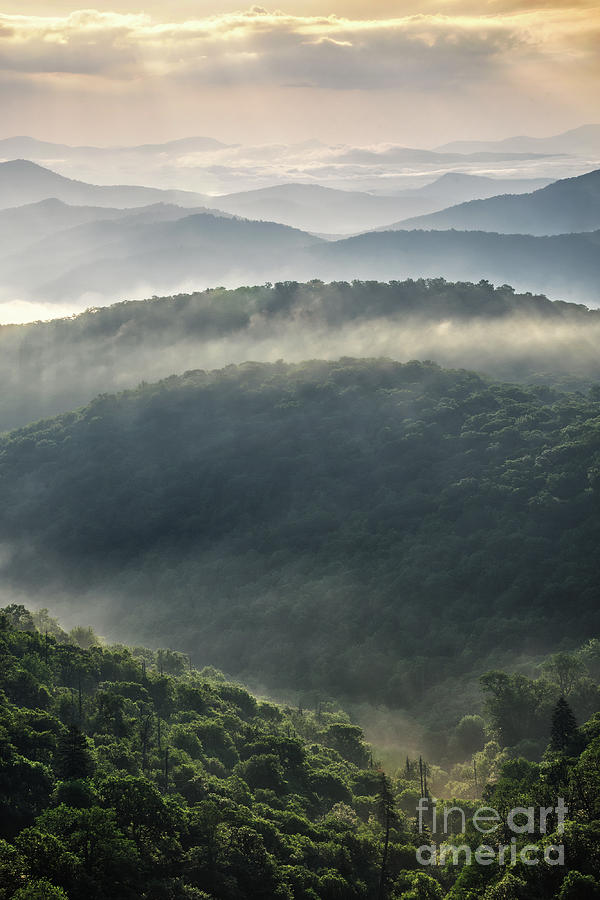 Blue Ridge Parkway Photograph - Scenic Overlook 8 by Phil Perkins