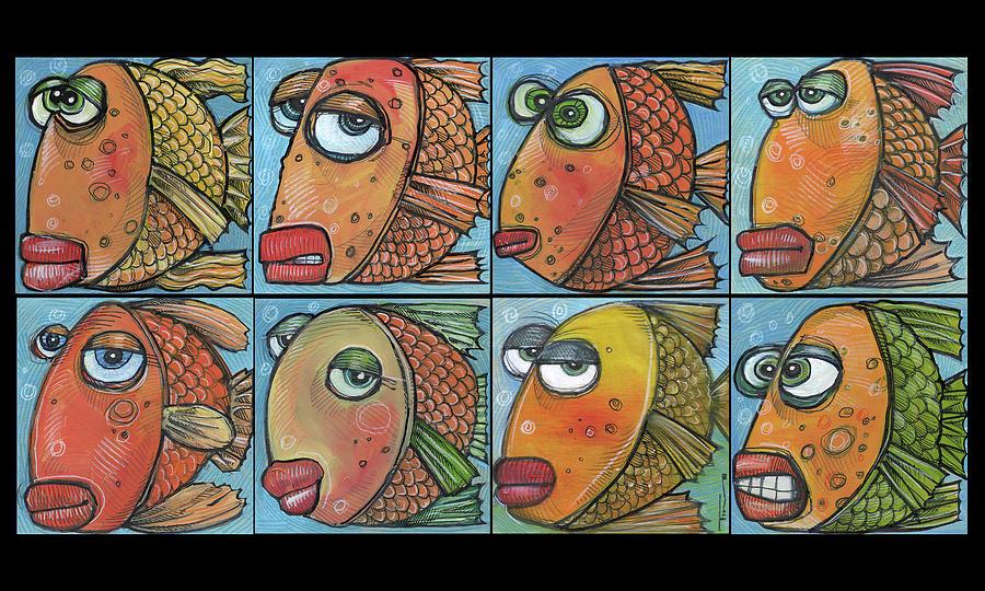 School of Eight Fish by Tim Nyberg