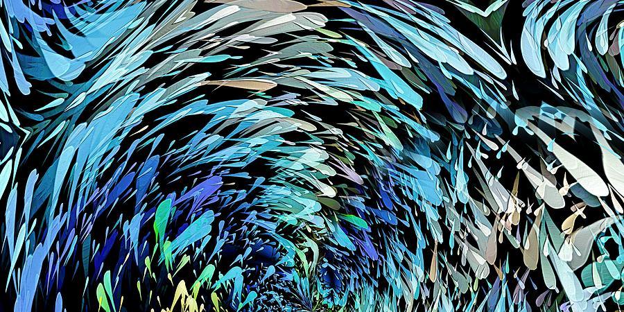 Digital Digital Art - School by David Manlove