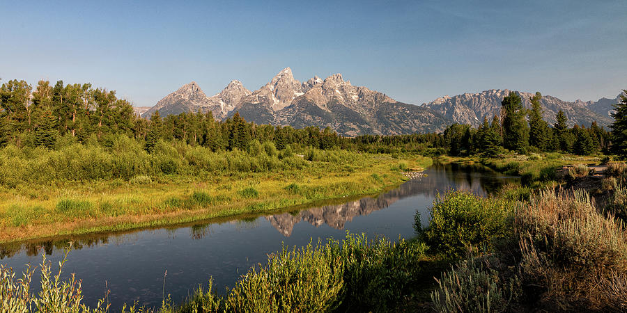 Schwabacher Landing In The Early Morning Photograph