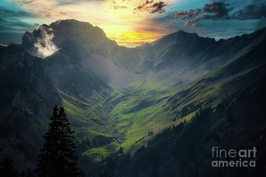 Schweizer Berge by Mirza Cosic