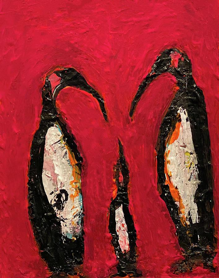 Penguin Photograph - Science is Fiction by Nicholas Brendon