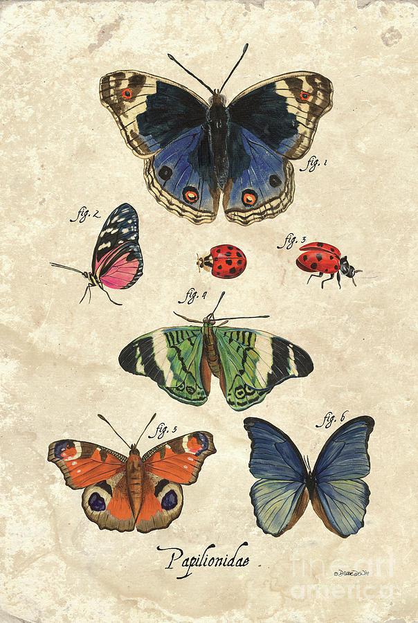 Scientific Butterflies 2 Painting