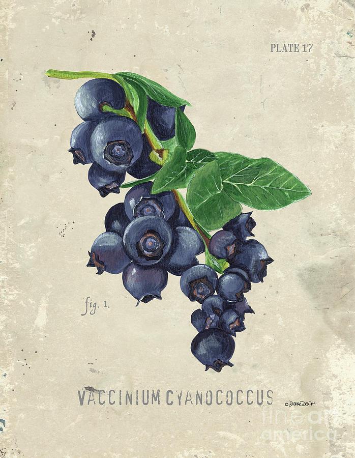 Scientific Fruit 1 Painting