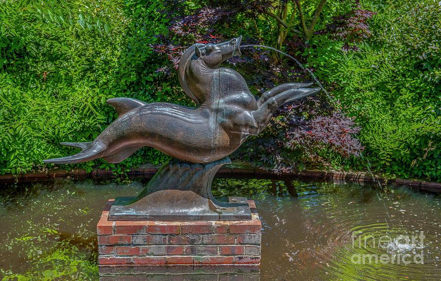 Sculpture Garden - Murrells Inlet South Carolina Photograph