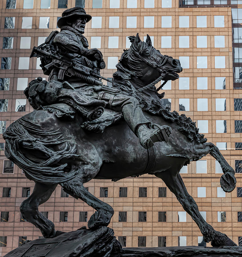 SCulpture Honoring the Military NYC by Robert Ullmann