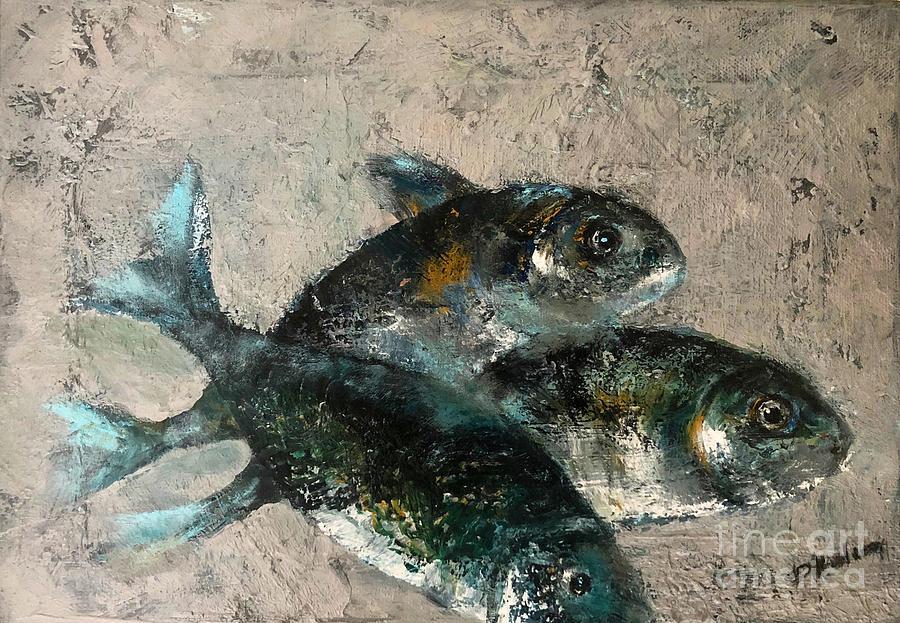 Sea Breams Painting
