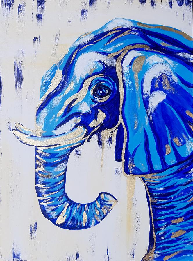 Sea Elephant - Gilded Painting