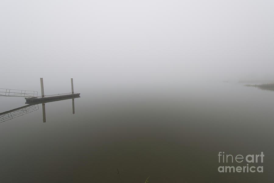 Sea Fog - Wando River - Mount Pleasant South Carolina Photograph