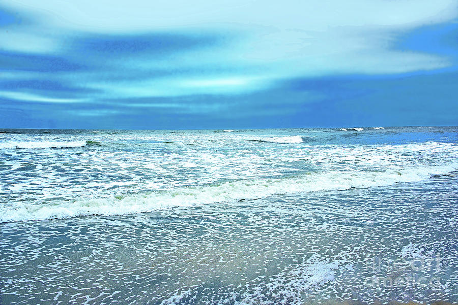 Sea Lace At The Jersey Shore Photograph