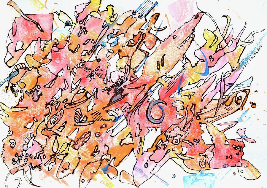 Sea Net Medley Painting