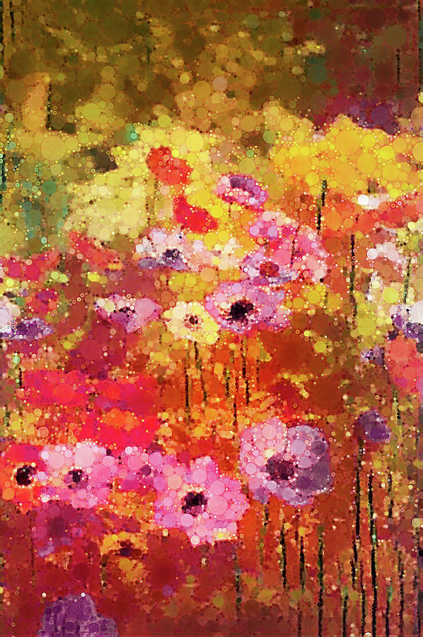 Sea Of Anemones Digital Art