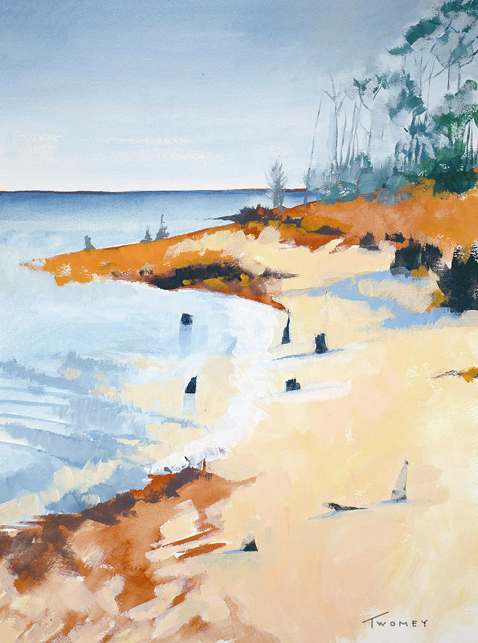 Inlet Painting - Sea Peace by Catherine Twomey
