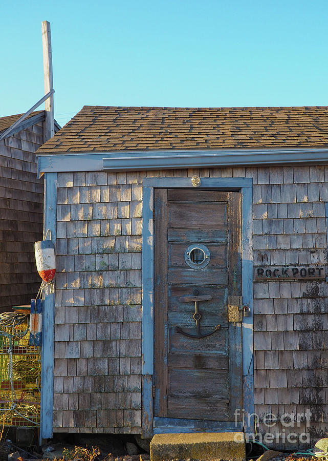 Lobster Shack Rockport by Mary Capriole