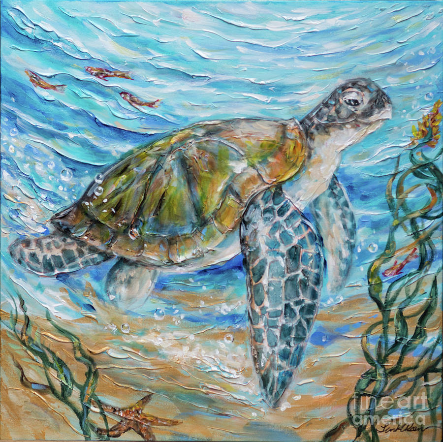 Sea Turtle Cheer by Linda Olsen