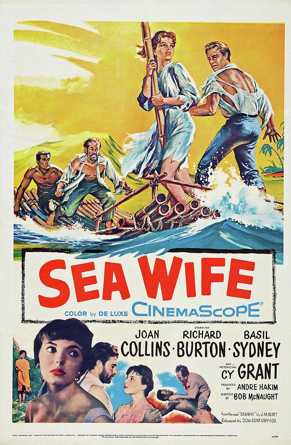 sea Wife - 1957 Mixed Media