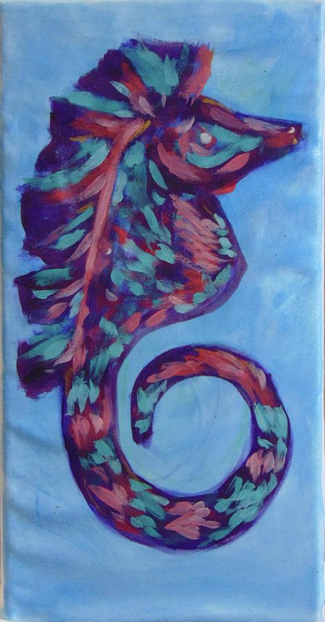 Seahorse1260 by Loretta Nash