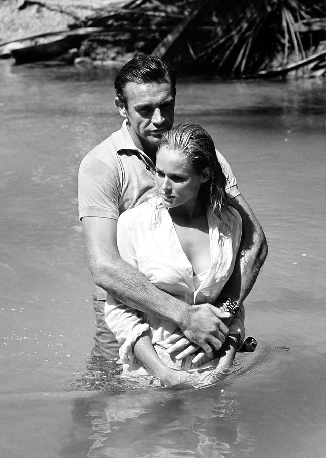 SEAN CONNERY and URSULA ANDRESS in DR. NO -1962- UNITED ARTISTS  by Album