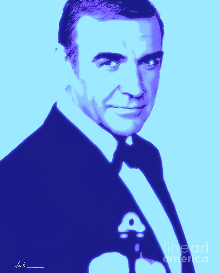 Connery Painting - Sean Connery by Jack Bunds
