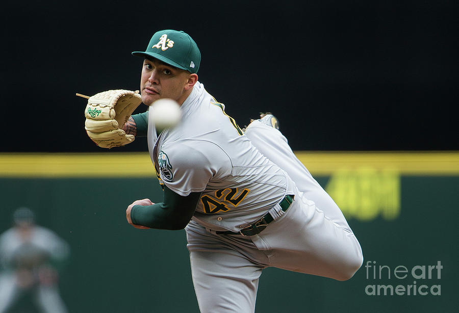 Sean Manaea Photograph by Lindsey Wasson