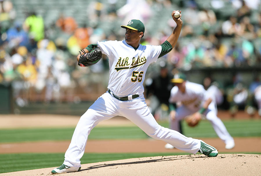 Sean Manaea Photograph by Thearon W. Henderson