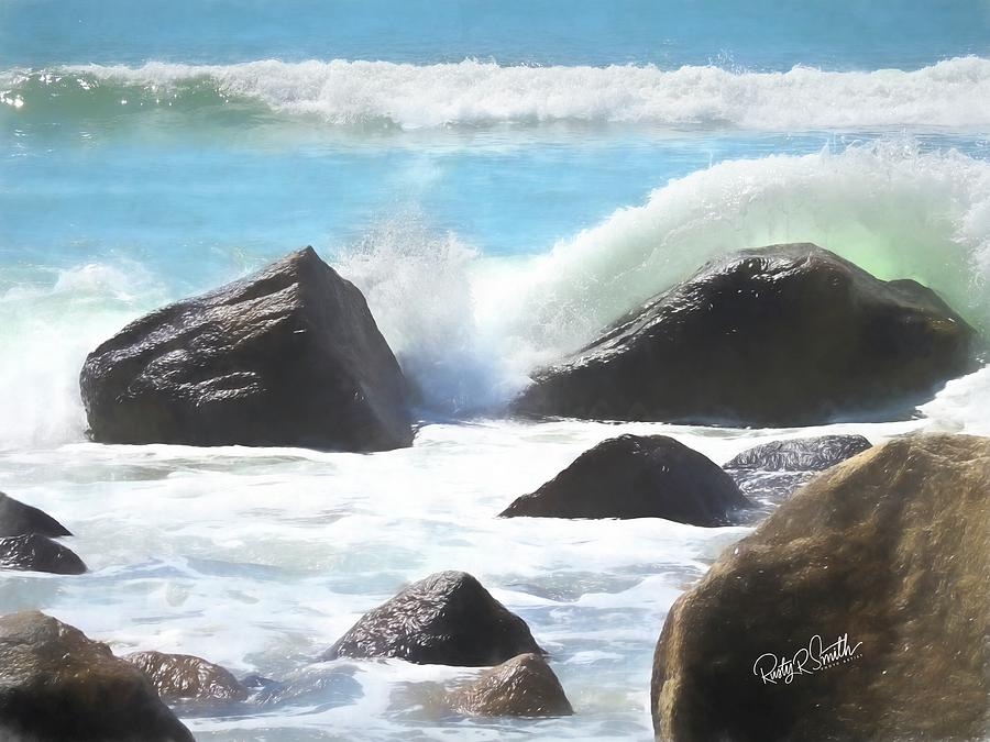 Seascape art photograph. by Rusty R Smith