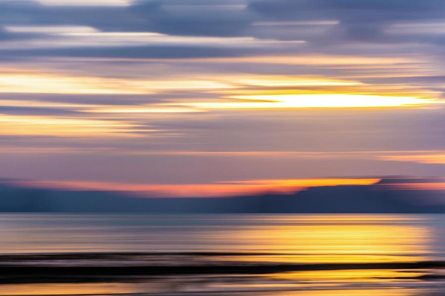 Seascape Dawn Colours Photograph