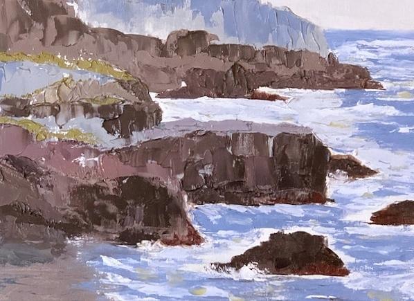 Seascape by Donna Joy Cavaliere