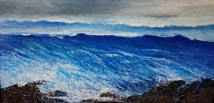 Seascape fantacy Painting by Larry Palmer