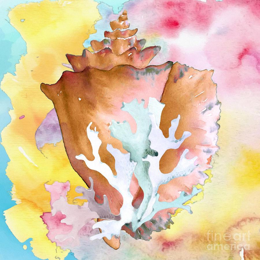Seashell by Olga Hamilton