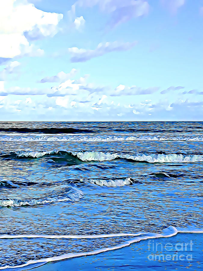 Seashore along the Outer Banks by Tracy Ruckman