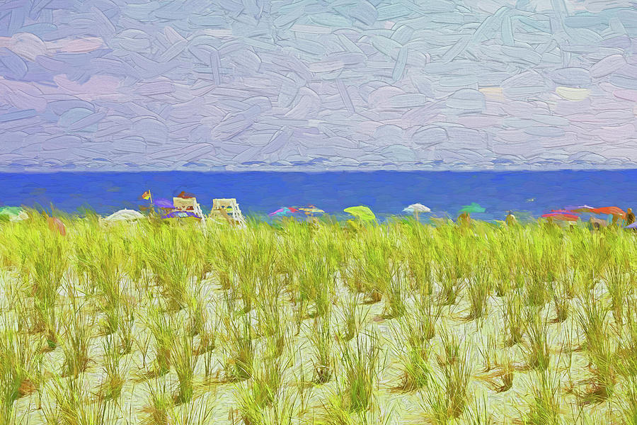 Seaside Heights - Photopainting Photograph