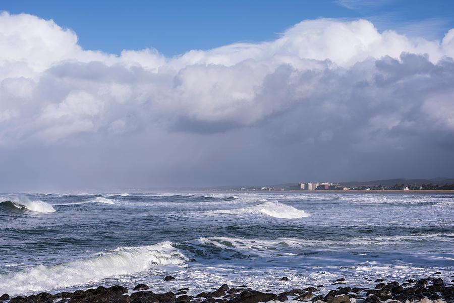 Seaside Sea and Sky by Robert Potts