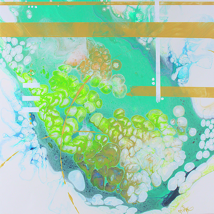 Seaspray Painting - Seaspray by Allison Fox
